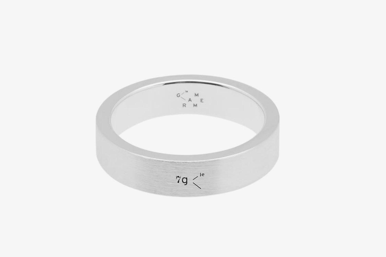 Brushed Ribbon Ring