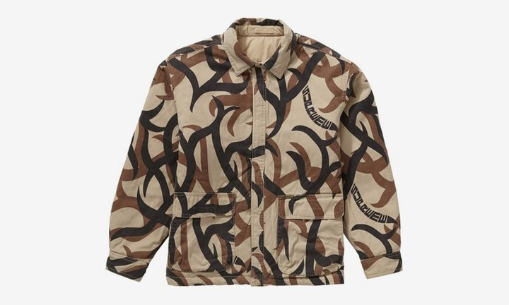 Supreme Tribal Camo reversible jacket