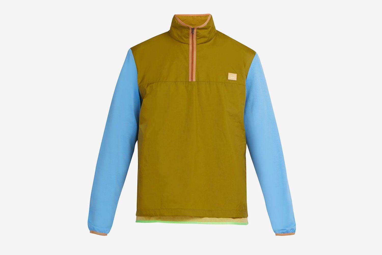 Osric Contrast Sleeve Technical Jacket