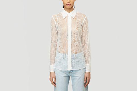 70's Line Lace Shirt