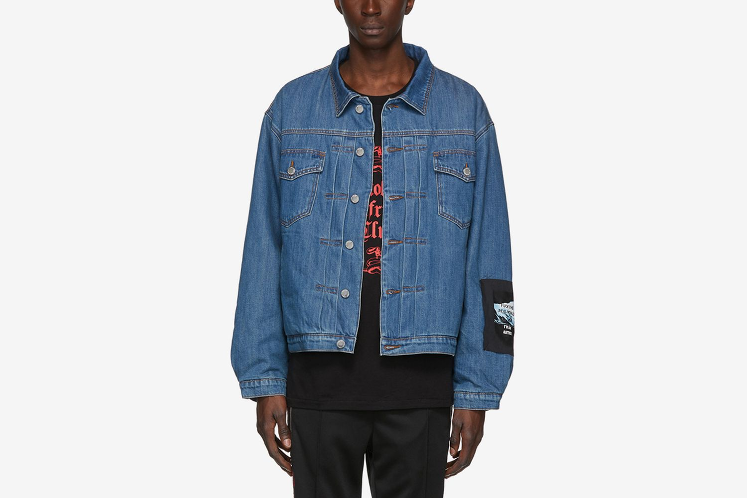 Denim 'The Artist' Trucker Jacket