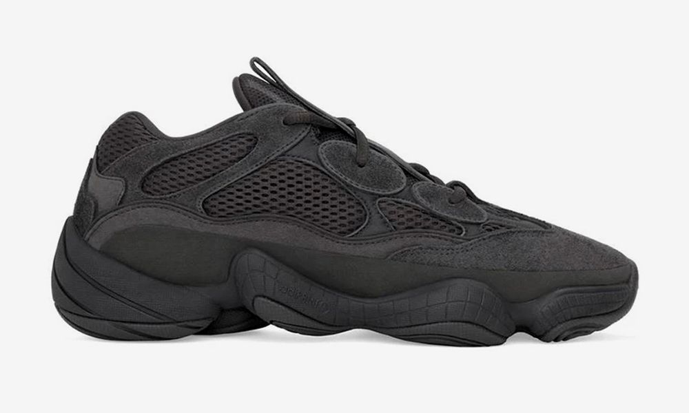 "2fbdc8260da74 Sizes 9-11 US of the adidas YEEZY 500 ""Utility Black"" Re-Stocked on YEEZY  SUPPLY"