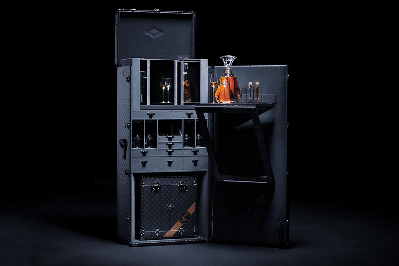Hennessy Trunk Louis Vuitton hennessey