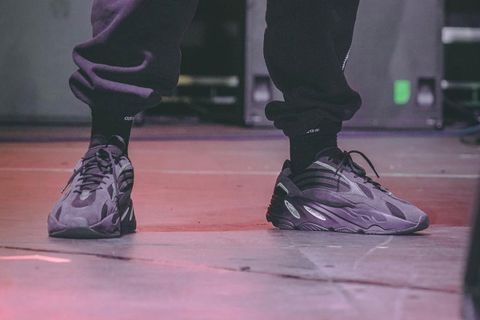 6a873827 Kanye West Gives Us Best Look Yet at Triple Black YEEZY 700 V2
