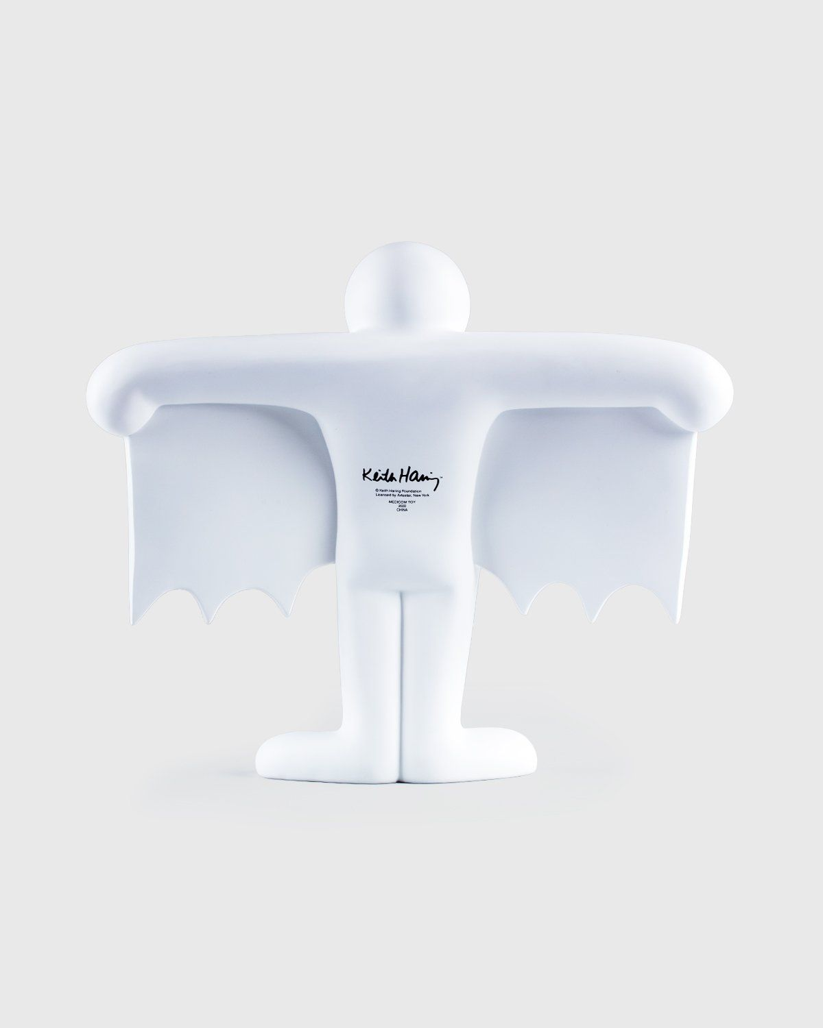 Medicom — Keith Haring Flying Devil Statue White - Image 2