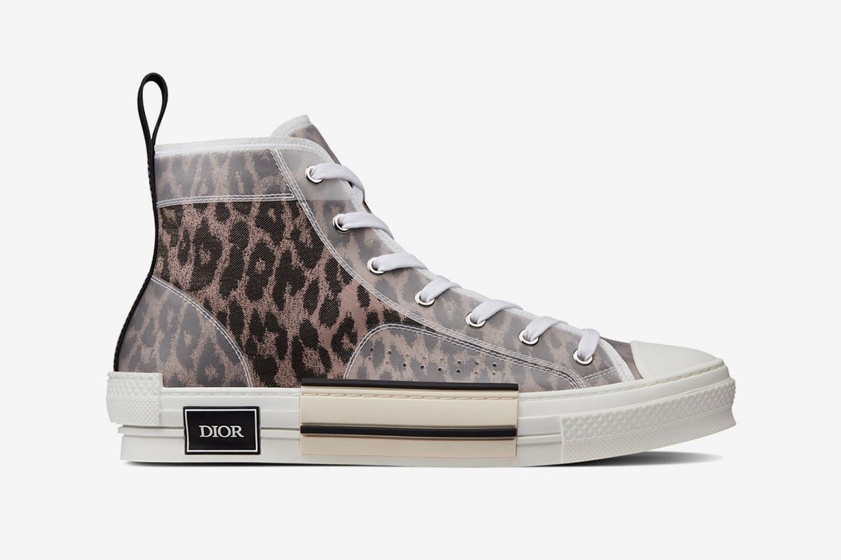 Dior's Popular B23 Sneaker Arrives in New Leopard Print Colorways