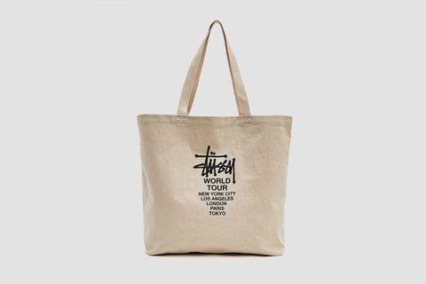 Canvas Tour Tote Bag