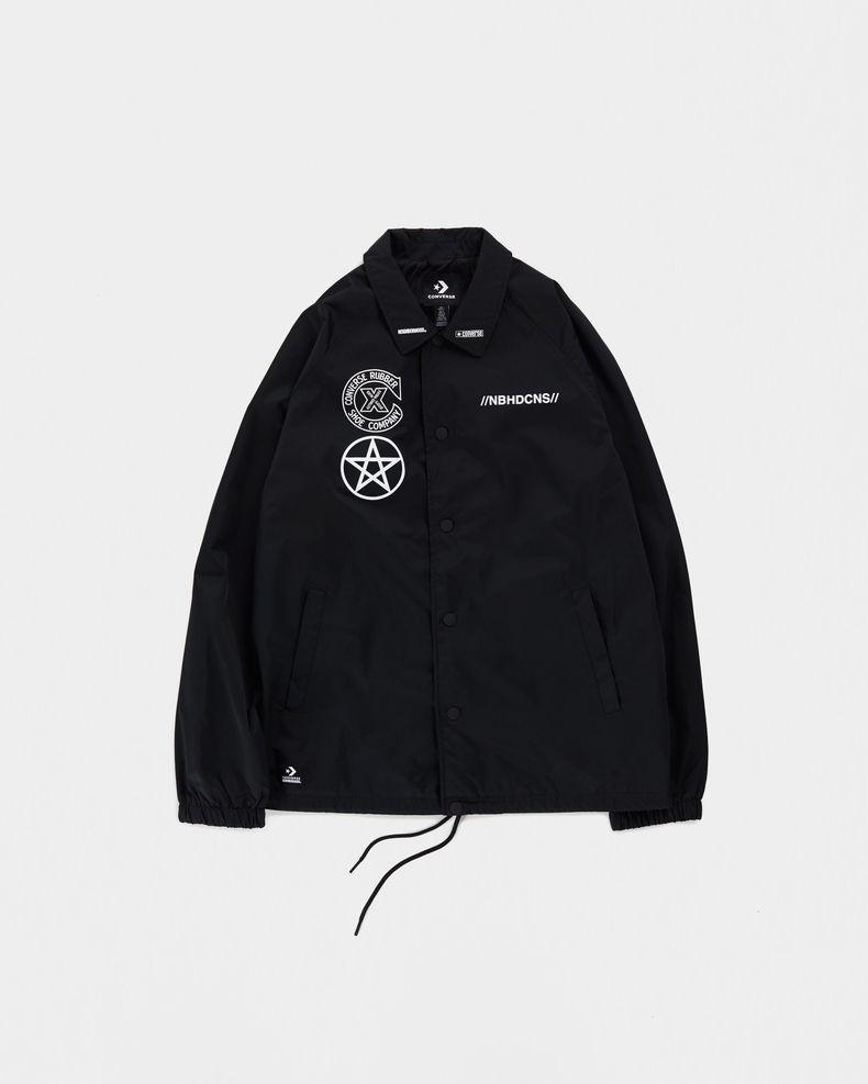 Converse x NBHD — Black Coaches Jacket