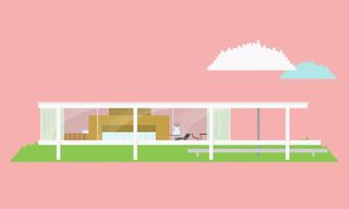 Watch Iconic Modernist Houses Get Animated