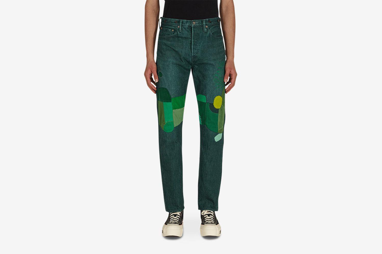 No.4 Plant Dye 5p Monkey Cisco Jeans