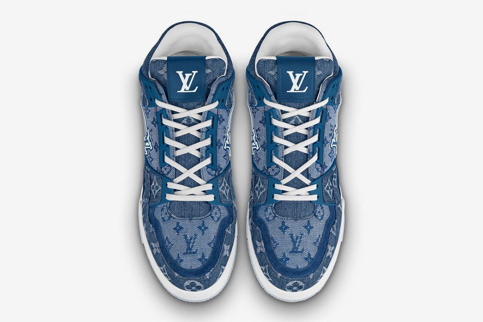 Louis Vuitton LV Trainer Monogram Denim