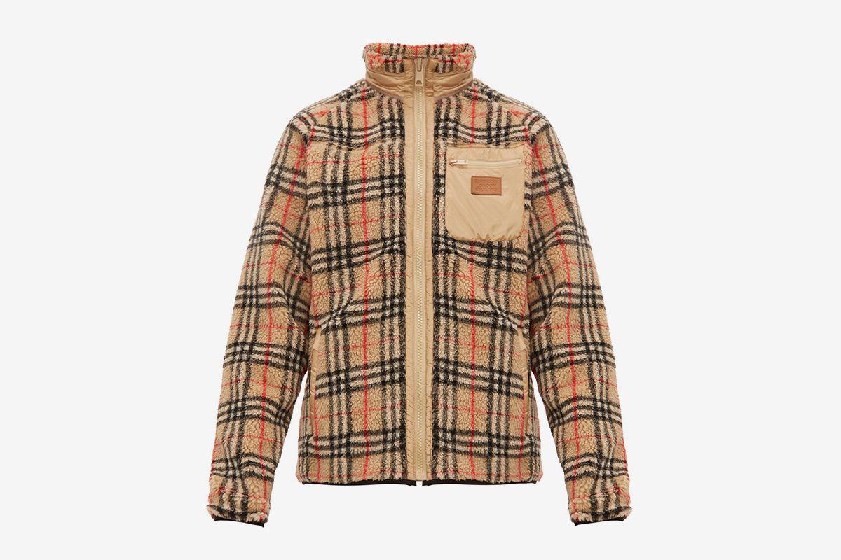 Westley Vintage Check Fleece Jacket