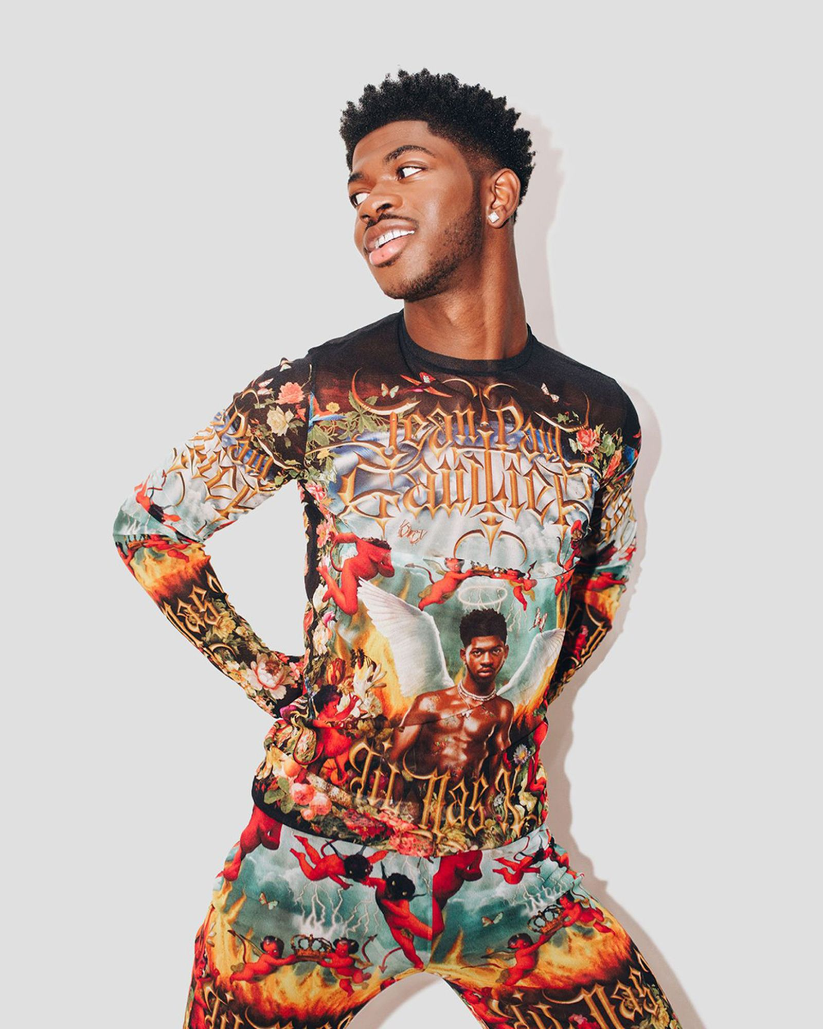 lil nas x jean paul gaultier shirt collaboration release date info buy price