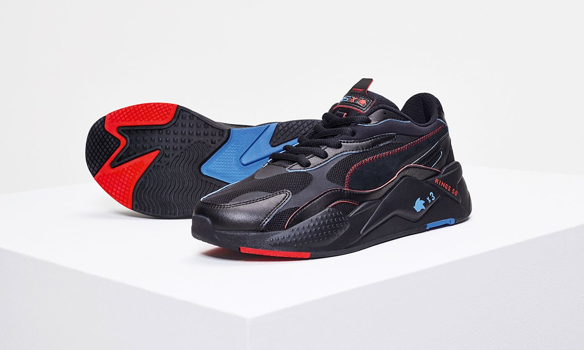 SONIC x PUMA RS X3: Official Images & Release Information