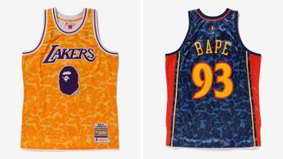 buy online c3346 61ce5 BAPE NBA Jerseys & Odell Beckham's OFF-WHITE x Nike | Ball Boyz