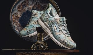 """Here's How to Cop the atmos x ASICS GEL-Lyte 3 """"World Map"""""""
