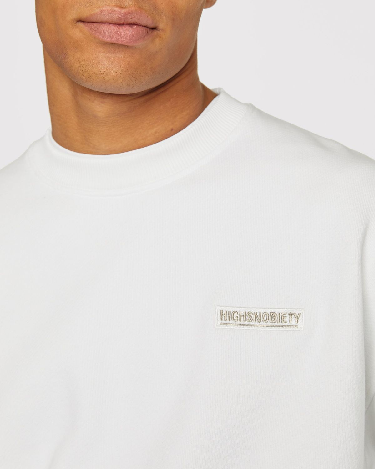 Highsnobiety Staples — Sweatshirt White - Image 5