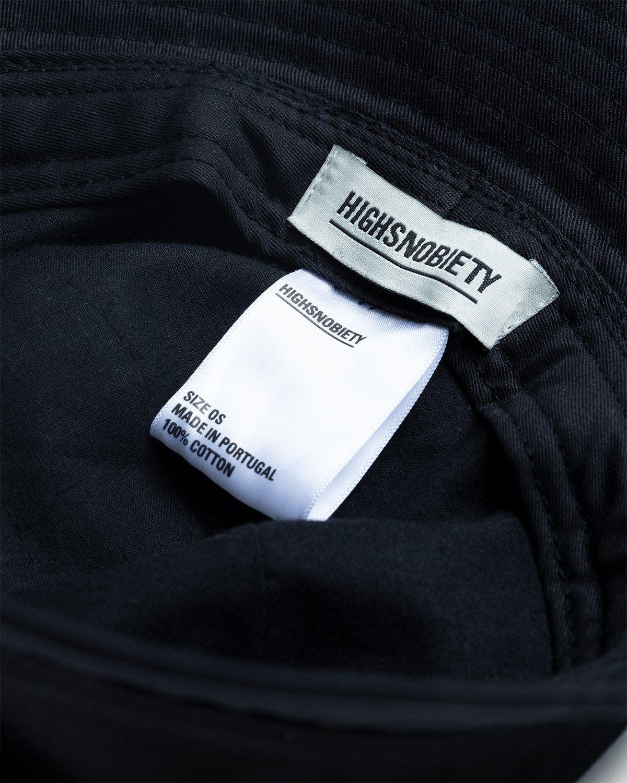 Highsnobiety – Bucket Hat Black - Image 5