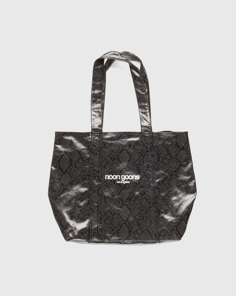 Noon Goons — Mojave Snakeskin Bag Black