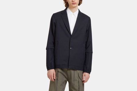Sport Single-Breasted Coat