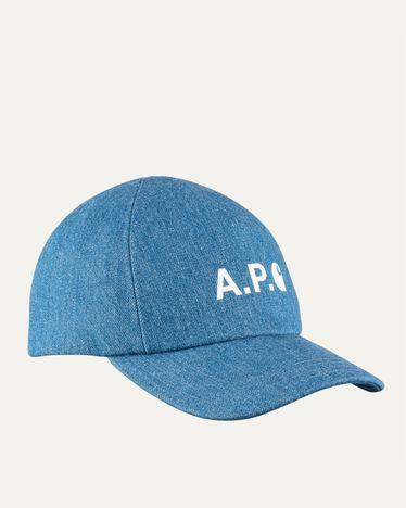 A.P.C. x Carhartt WIP - Cameron Baseball Cap Indigo
