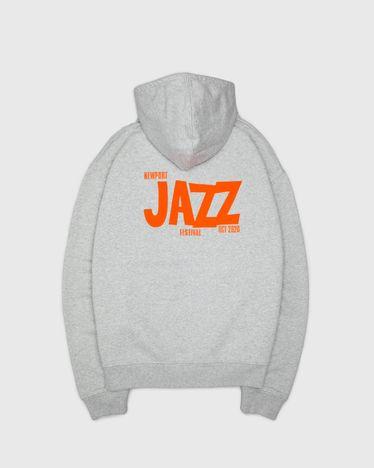 Newport Jazz Logo - Hoodie Grey