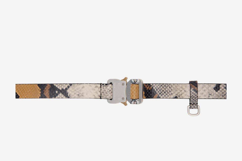 Animal Print Medium Rollercoaster Belt