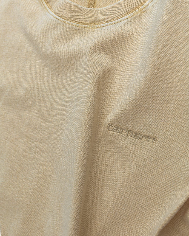 Carhartt WIP – Ashfield T-Shirt Brown - Image 3