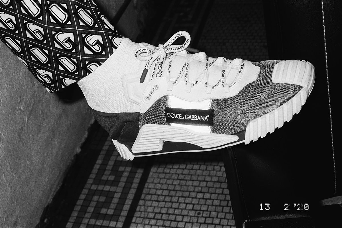 New Colorways of Dolce&Gabbana's NS1 Sneaker Hit the Streets of NYC 10