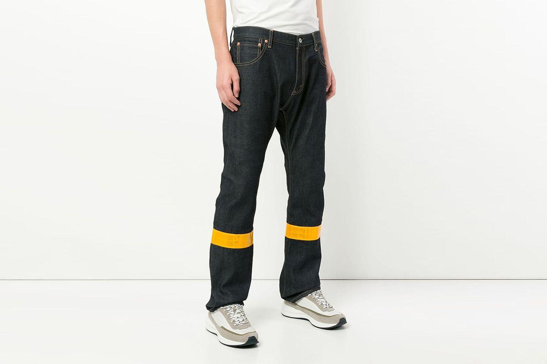 Reflective Stripe Jeans
