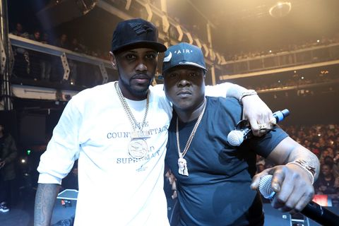 Fabolous (L) and Jadakiss perform at Terminal 5