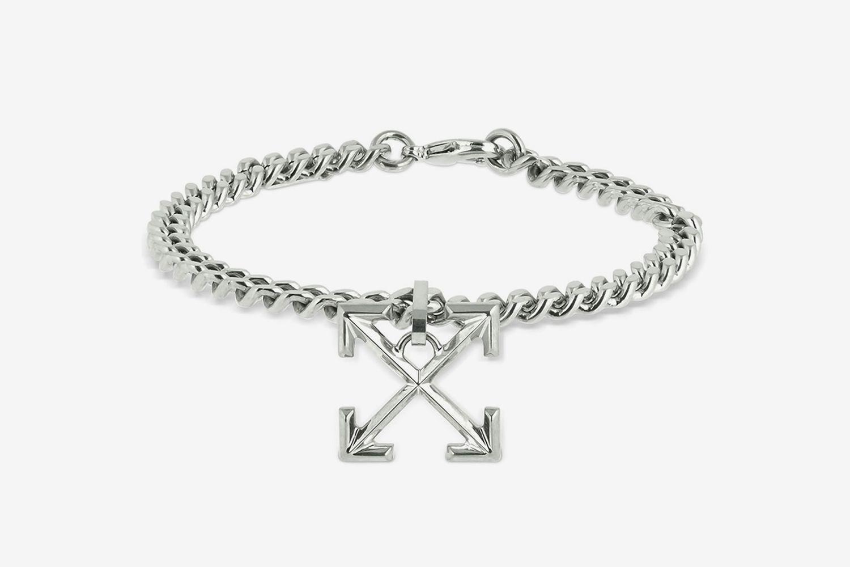Logo Arrows Metal Bracelet