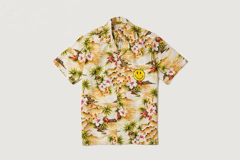 Smiley Hawaiian Shirt