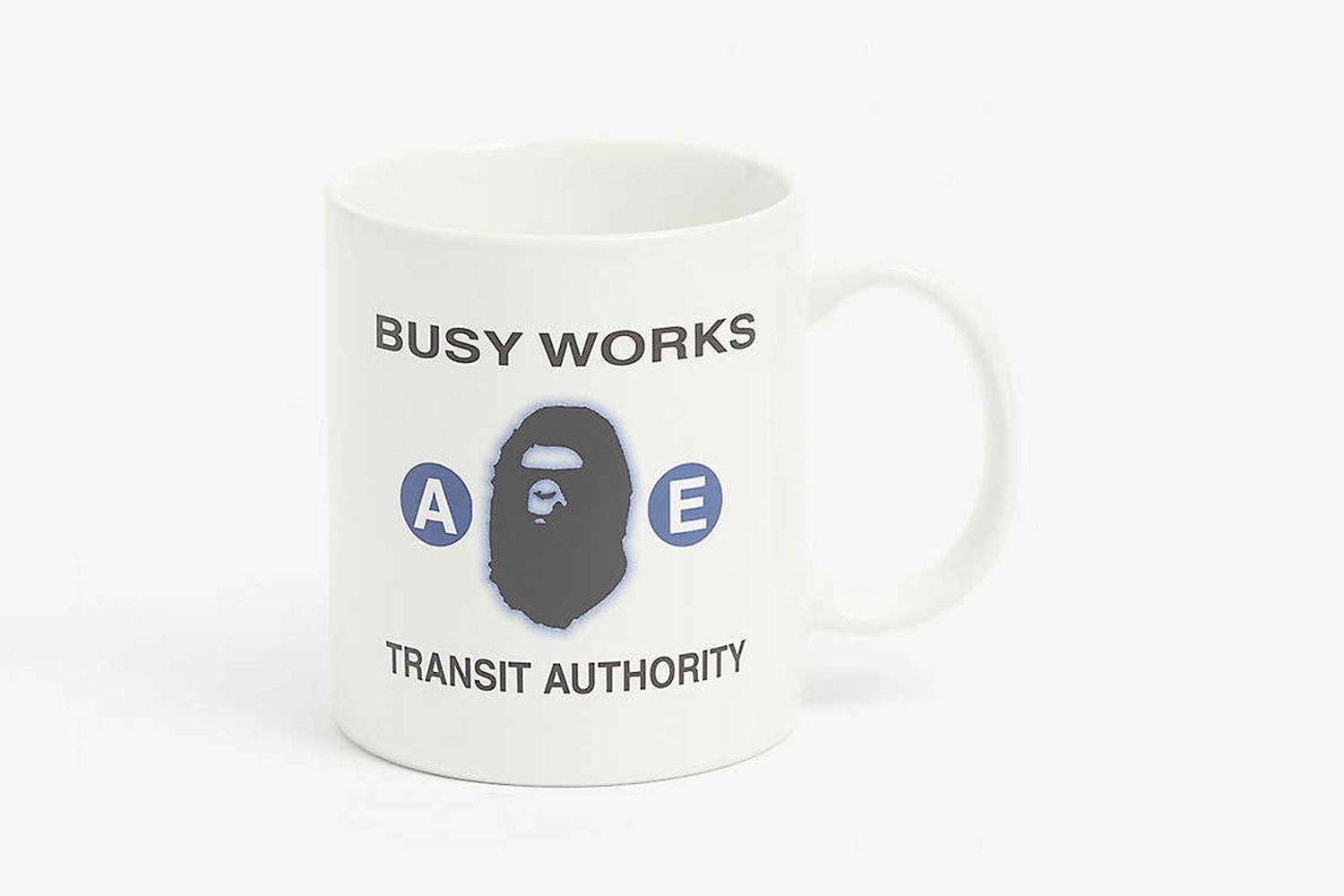 Busy Works Logo Print Ceramic Mug