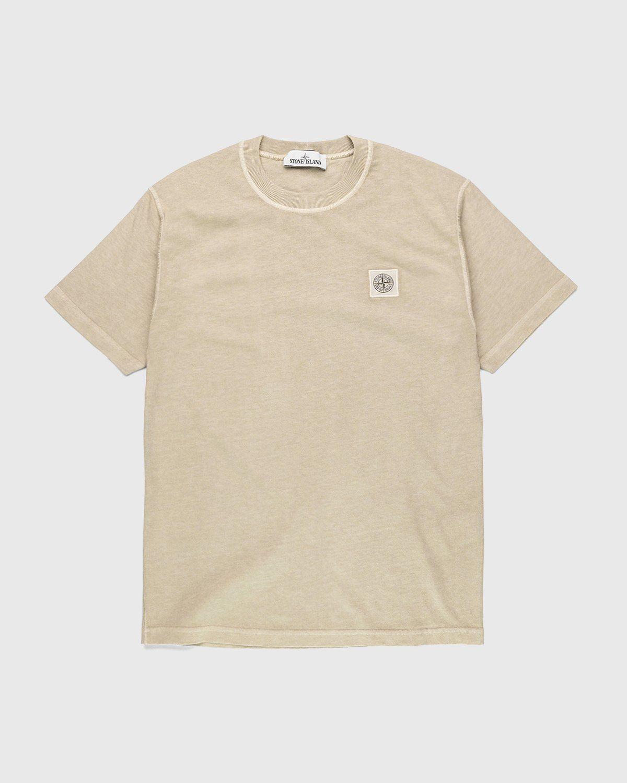 Stone Island – T-Shirt Natural Beige - Image 1