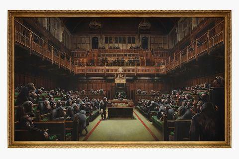 banksy devolved parliament sells record 12 million dollars sothebys