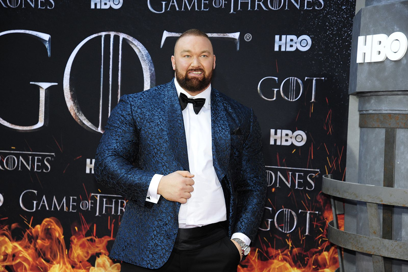 """attends """"Game Of Thrones"""" New York Premiere"""