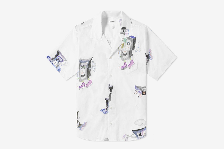 VHS Print Vacation Shirt