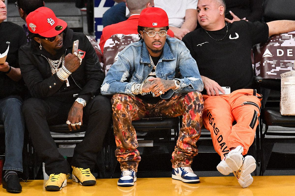 Seven Times Fire Sneakers Showed Up Courtside at the NBA 17