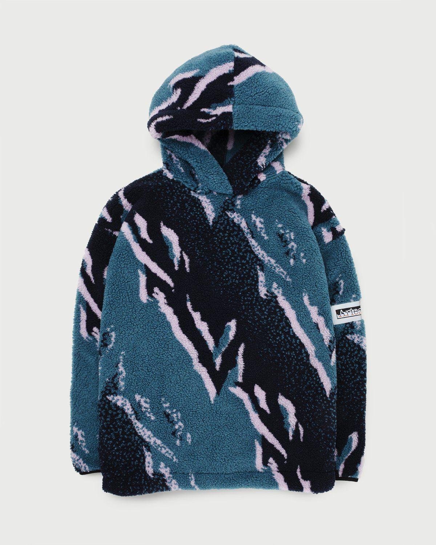 Aries — Oversized Fleece Hoodie Multicolor - Image 1