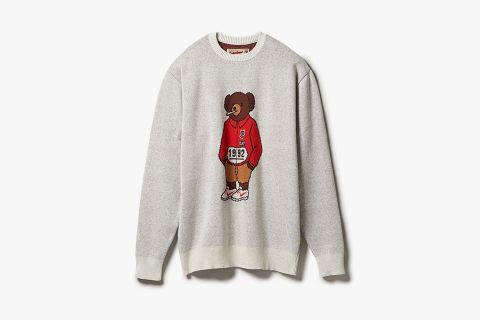 Stadium Bear Sweater