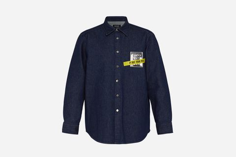Tape Patch Denim Shirt