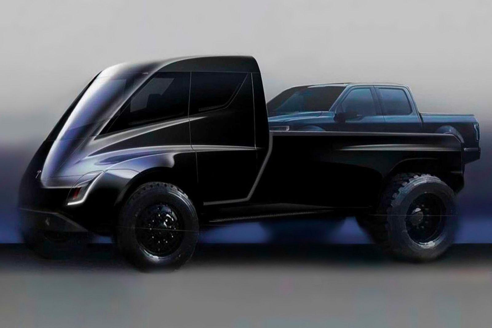 tesla pickup truck Elon Musk