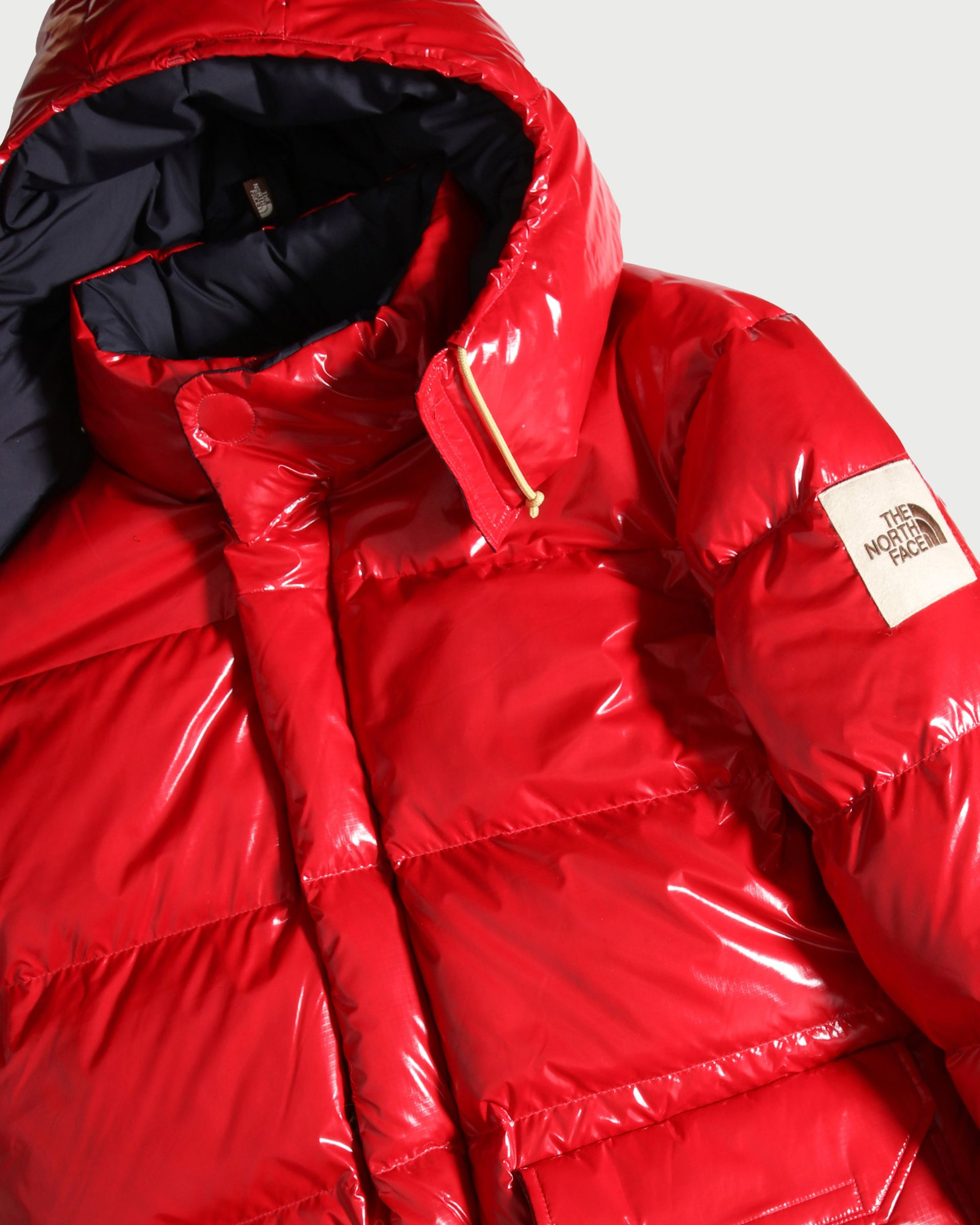 The North Face Brown Label - Brown Label Ripstop Down Parka Red Unisex - Image 3