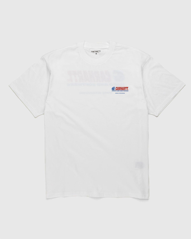 Carhartt WIP – Software T-Shirt White - Image 1