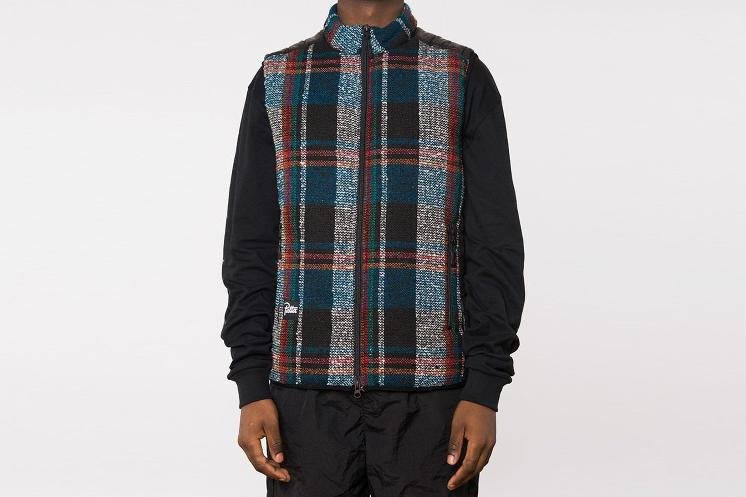 Tartan Wool Body Warmer