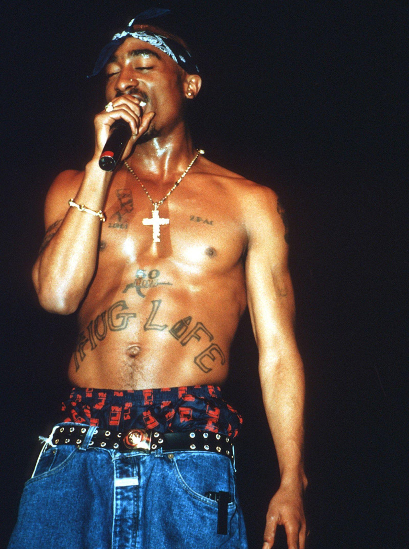 Tupac Shakur Performing