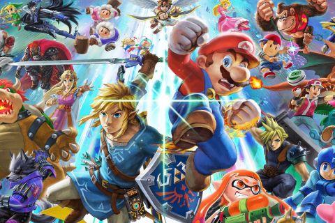 super smash Super Smash Bros. Ultimate nintendo
