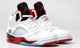 Air Jordan V Retro Fire Red/Black/White
