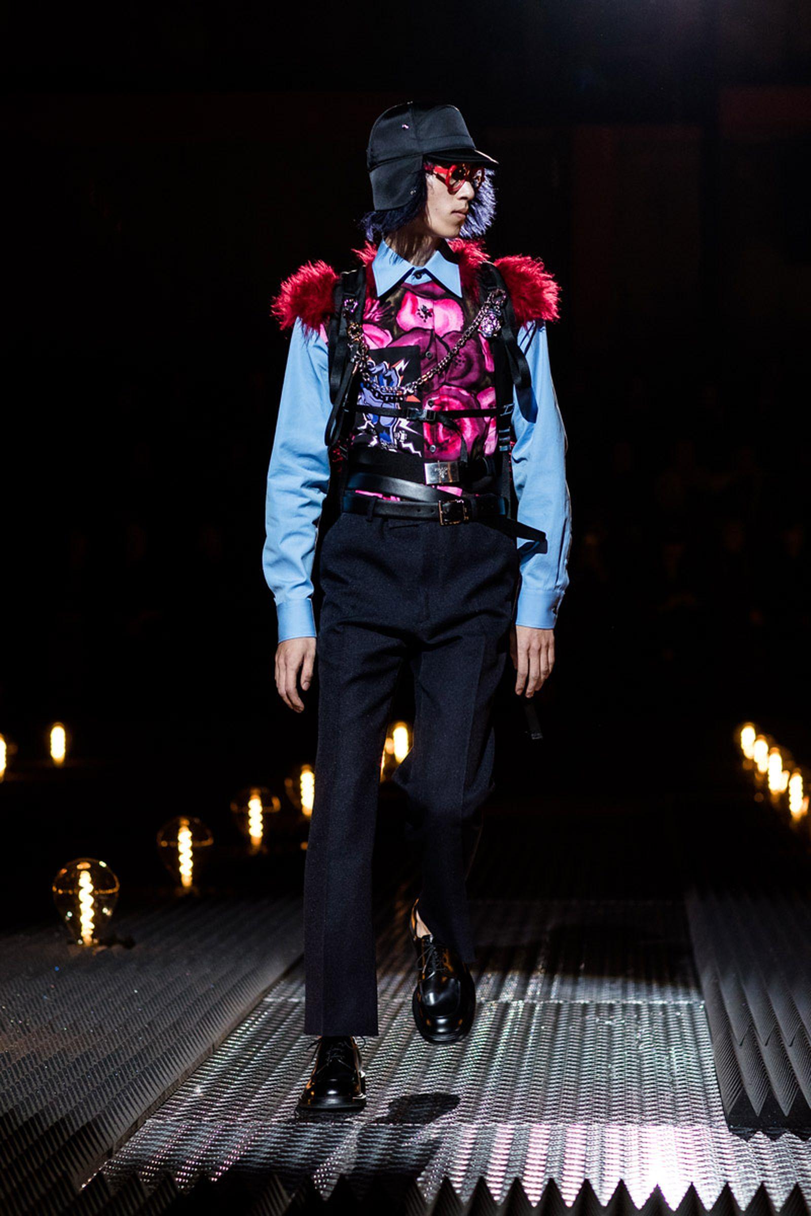 17prada fw19 milan fashion week rumway runway
